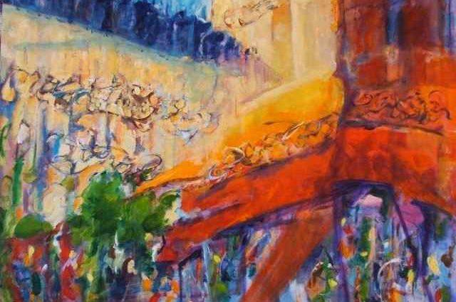 Абстрактные картины. Bruce Nellsmith 1