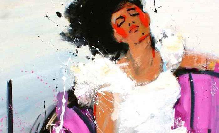 Французский художник. David Jamin 1