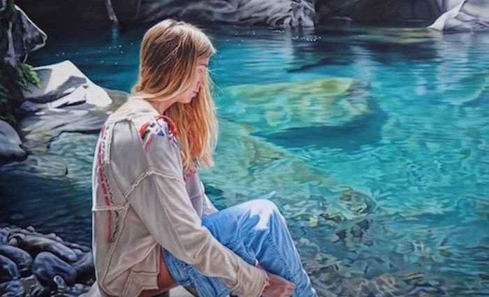 Новозеландский художник. Isaac Petersen 1