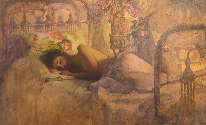 Болгарский художник. Ivan Madzharov 1