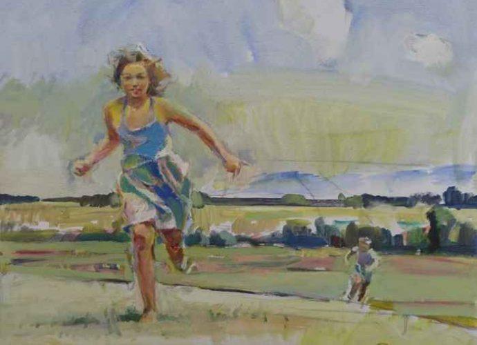 Болгарский художник. Ivan Russev 124