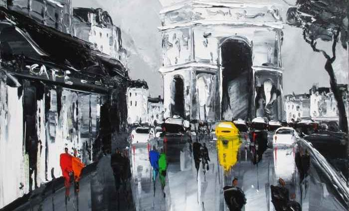 Поклонник художников-импрессионистов. Louis Magre 1