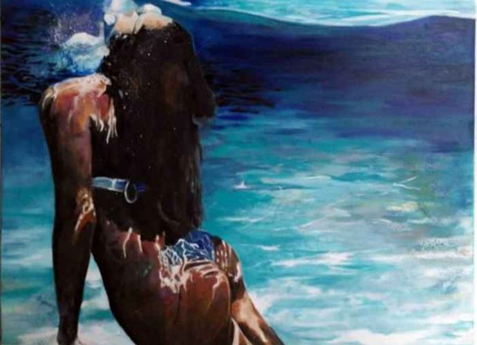 Французский художник. Maude Ovize 32