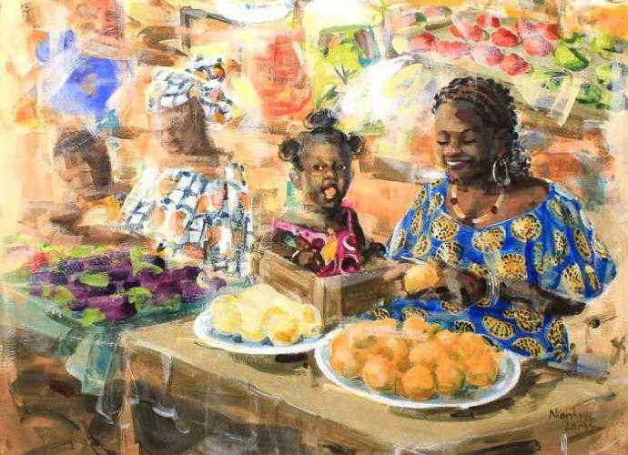 Яркие краски Африки. Niankoye Lama 1