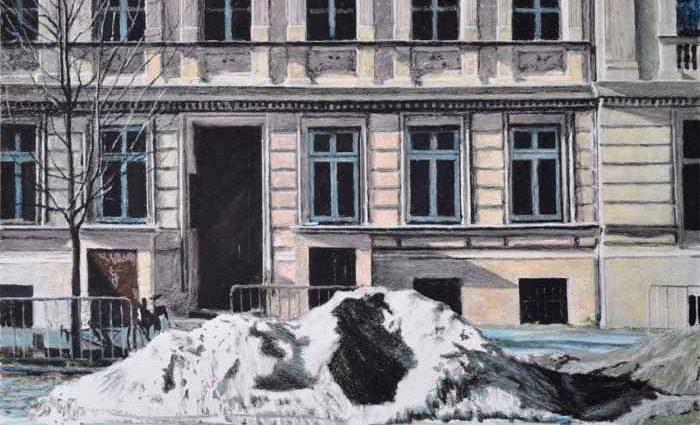 Французский художник. Paul Vergier 1