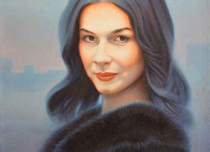 Портрет Веры Сабуровой. Степан Каширин 53