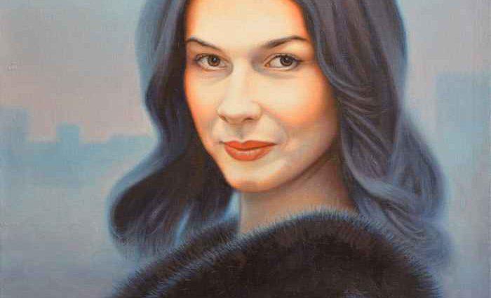 Портрет Веры Сабуровой. Степан Каширин 1