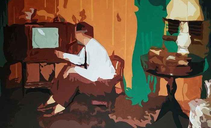 Румынский художник. Radu Rodideal 1