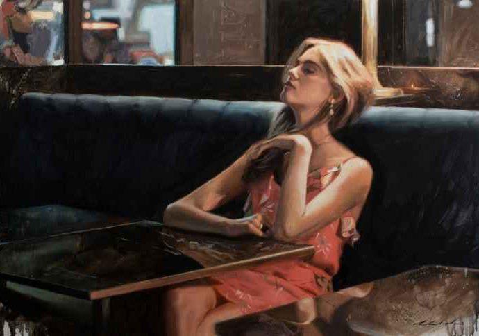 Австралийский художник-реалист. Richard Mauro 5