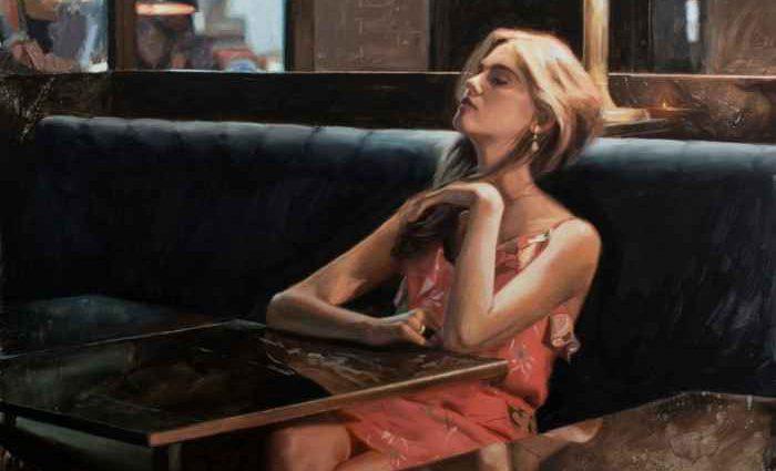 Австралийский художник-реалист. Richard Mauro 1