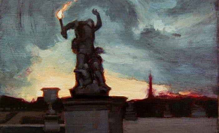 Современная фигуративная живопись. Richard Thomas Scott 1