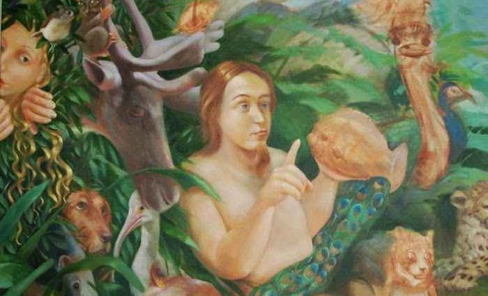 Библейские и аллегорические картины маслом. Rosemarie Adcock 1