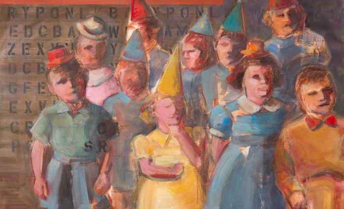 Французский художник. Rosemary Chatin 1