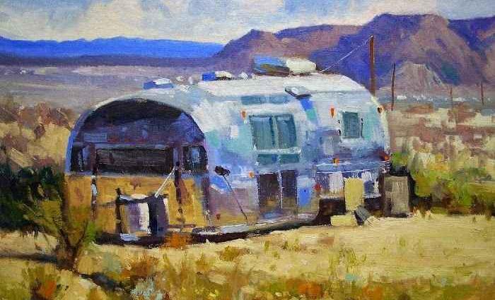 Американский художник. Rusty Jones 1