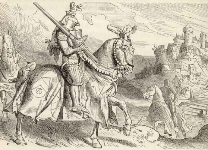 Гравюра в средние века 28