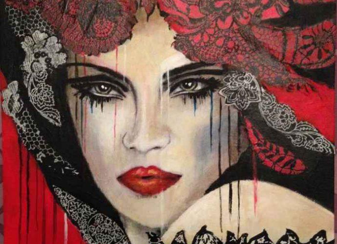 Французский художник. Sylvie Abadie-Bastide 169