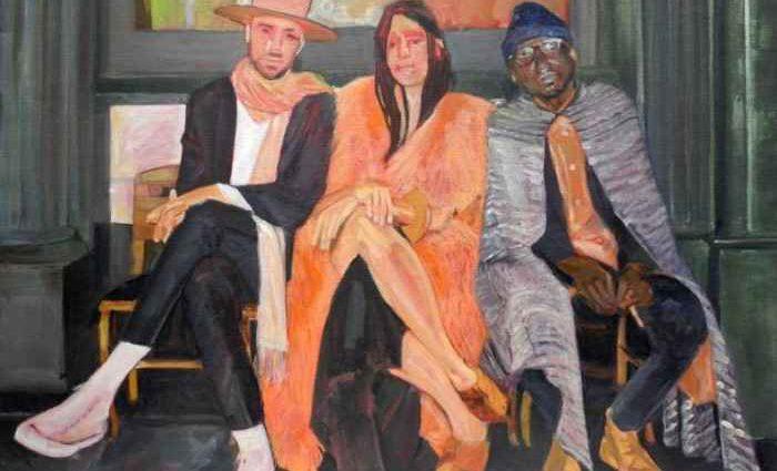 Французский художник. Фигуративные картины и ню. Tessa Zerbib 1