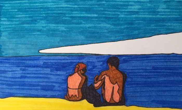 Искусство - это общение двух существ. Tuticki 1
