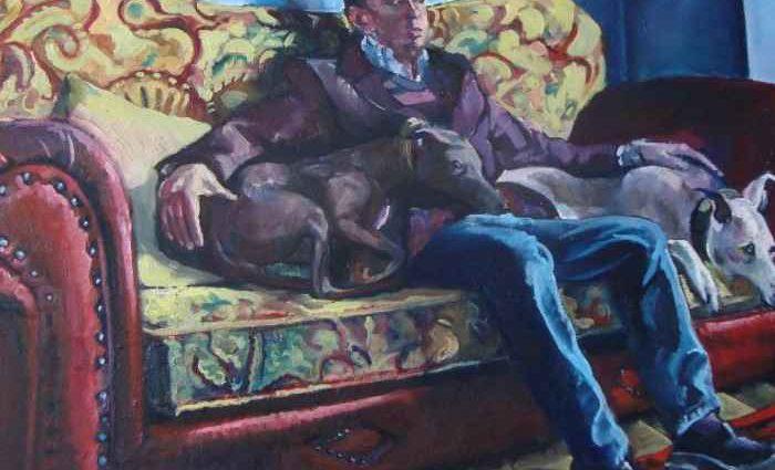 Британский художник. Vincent Donlin 1