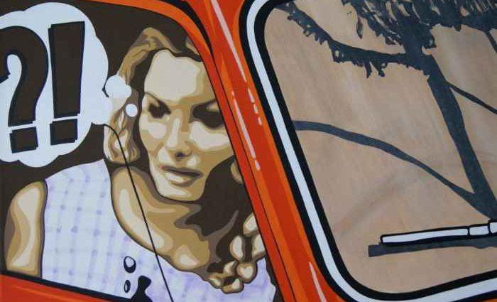 Граница между графикой и живописью. Wojciech Urbanczyk 1