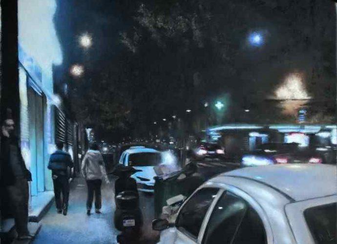 Ночь - это свет. Alain Fortier 111