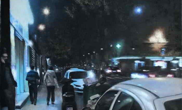 Ночь - это свет. Alain Fortier 1
