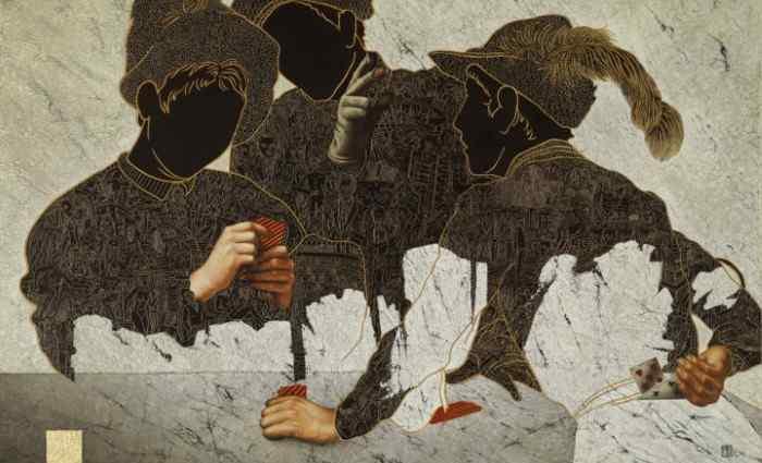 Французский художник. Alain Le Junter 1