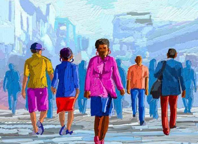 Кенийский художник. Anthony Mwangi 27