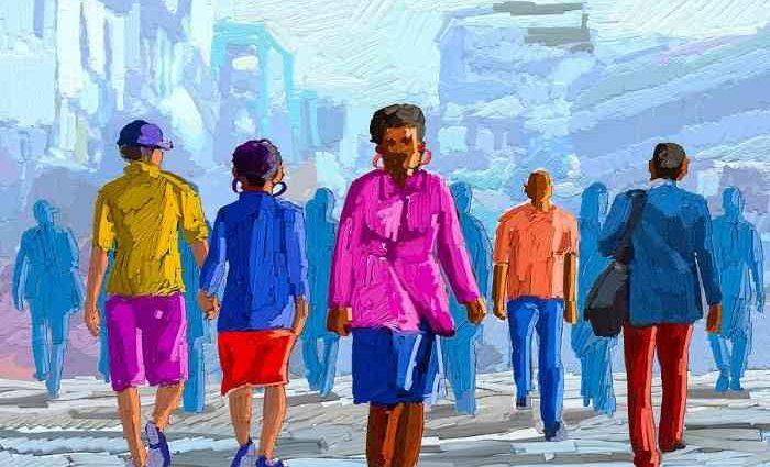 Кенийский художник. Anthony Mwangi 1