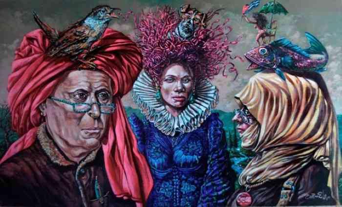Кубинский художник. Carmelo Gonzalez Gutierrez (Carmelohijo) 1