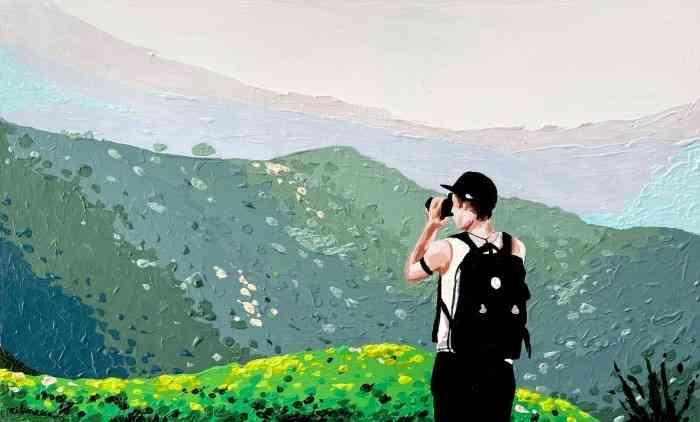 Городские и природные пейзажи. Eileen Lunecke 1