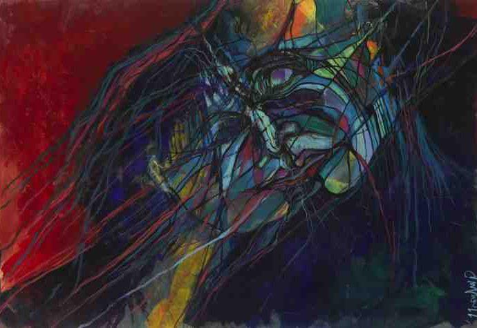 Итальянский художник. Giulia Gellini 11