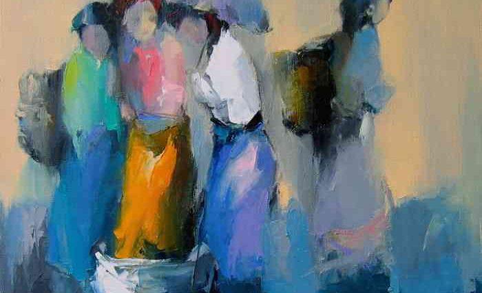 Талантливый и творческий художник. Hoang Nghia Hiep 1
