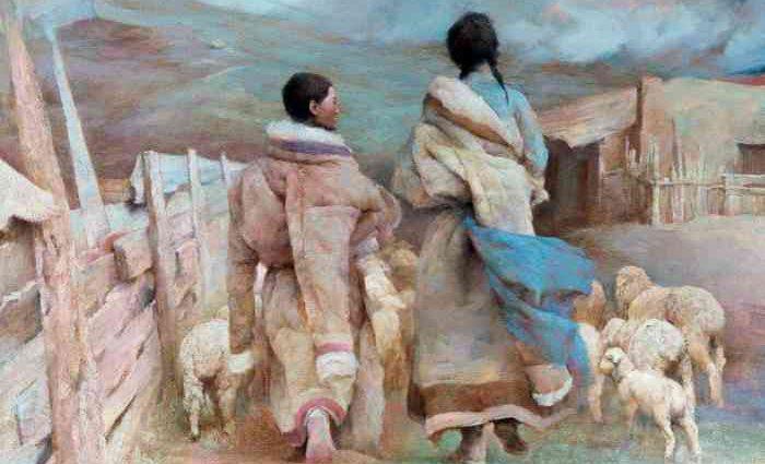 Китайский художник. Hongnian Zhang 1