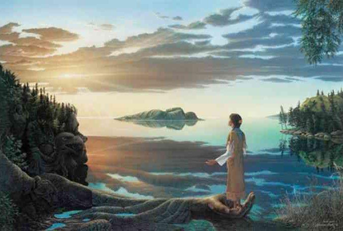 Мир человечности и духовности. Johannus Boots 15