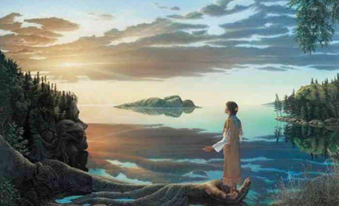 Мир человечности и духовности. Johannus Boots 1