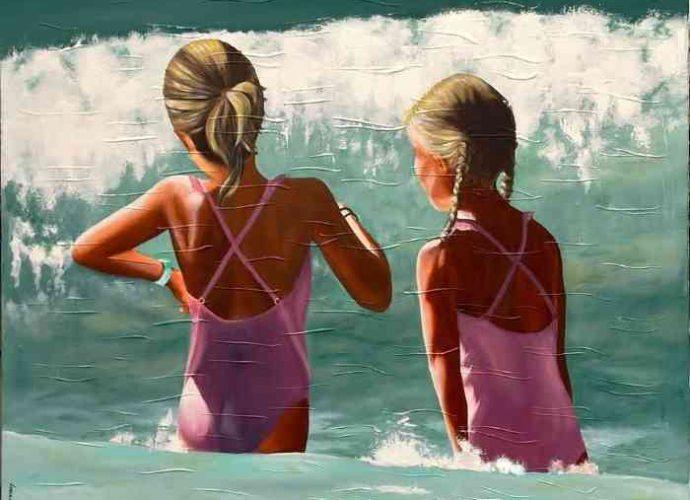 Стоп-кадры прибрежной жизни. Lorraine Lebrun 13