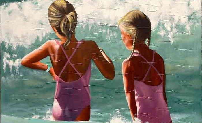 Стоп-кадры прибрежной жизни. Lorraine Lebrun 1