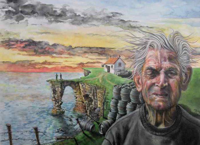 Шотландский художник. Mark Mulholland 157