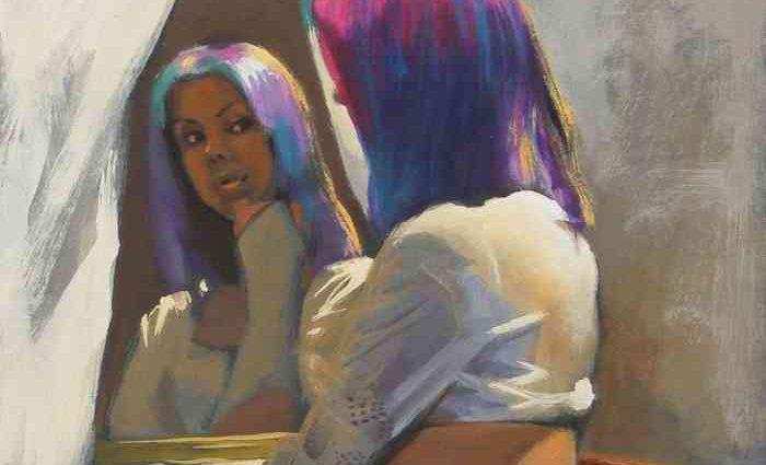 Реалистичные женские образы. Peter Orrock 16+ 1