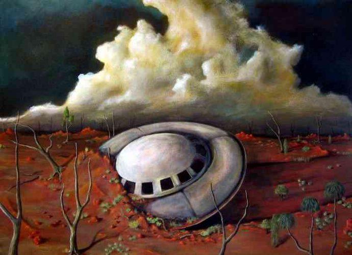 Современный австралийский художник. Tank Art 3