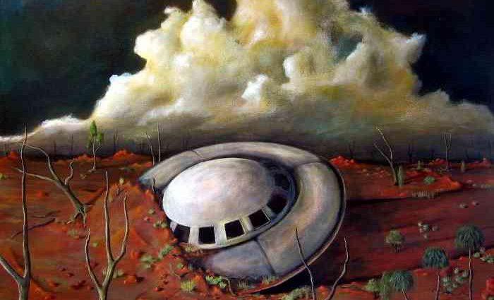 Современный австралийский художник. Tank Art 1
