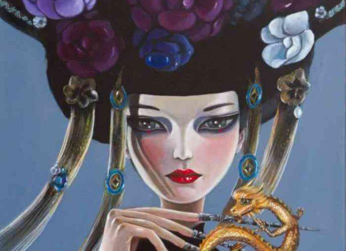 Китайский художник. Terri Duan (цифровая живопись) 24