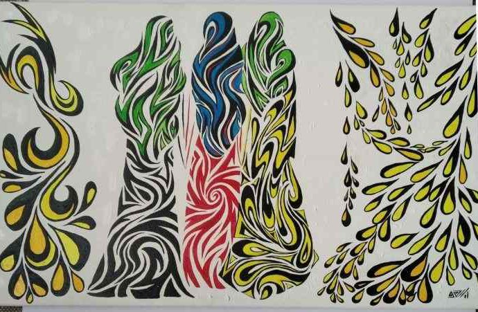 Украинский художник. Елена Камелина 49