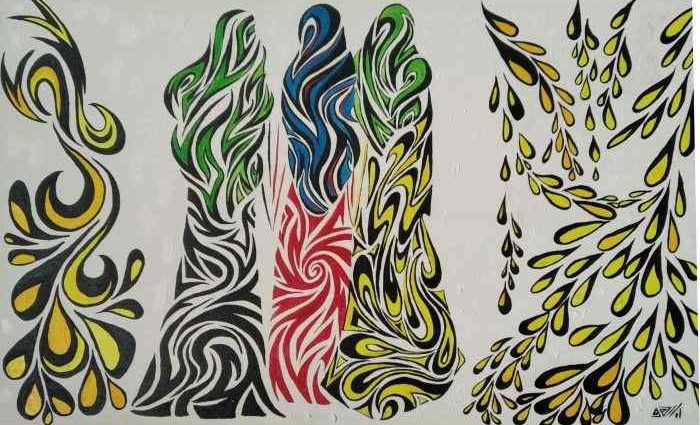 Украинский художник. Елена Камелина 1