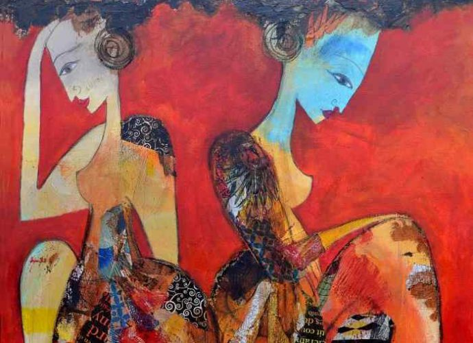 Алжирский художник. Valerie Depadova 1