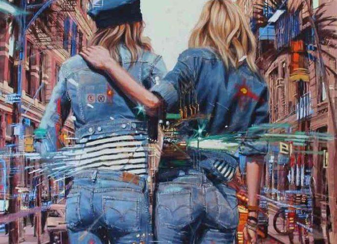 Кубинский художник. William Acosta 1