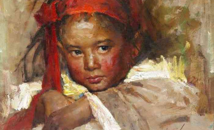 Китайский художник. Zhiwei Tu 1