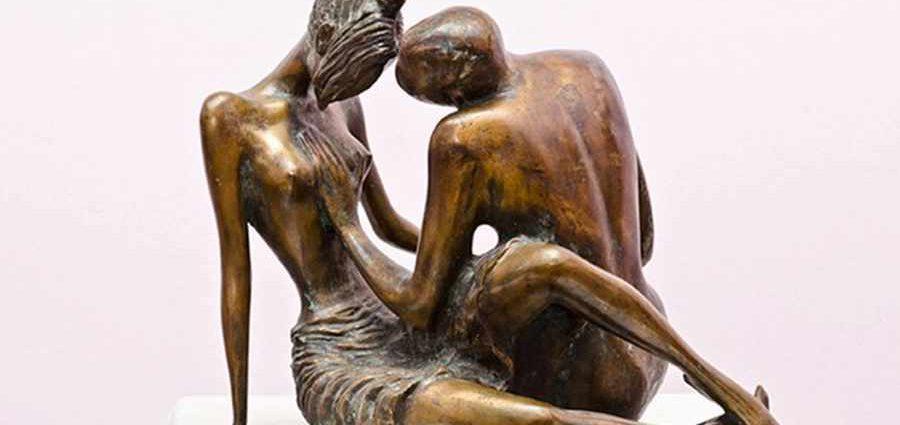 Скульптор и художник из Азербайджана. Закир Ахмедов