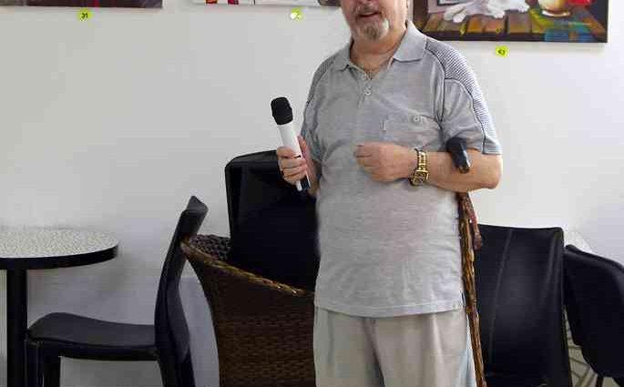 Израильский художник. Николай Грабовой 1